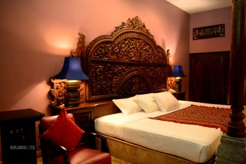 very large bed at apsara suite