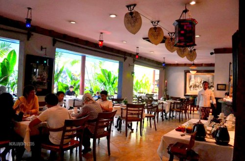 suasana melati restaurant