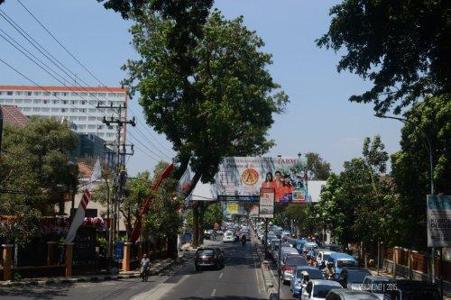 kawi street traffic