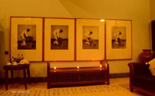 empat seri lukisan Bung Karno dan Fatmawati