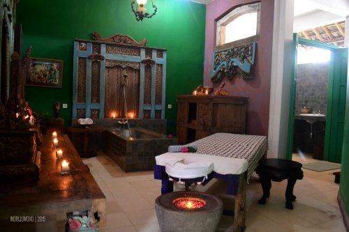lali djiwo heritage spa, ruang pertama