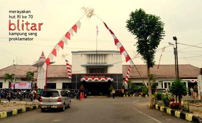 merayakan hut RI ke 70 di kampung sang proklamator