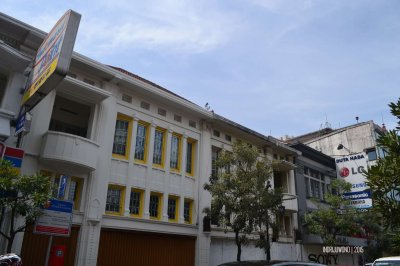 fasade toko masa lampau
