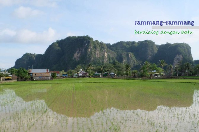 rammang-rammang : berdialog dengan batu