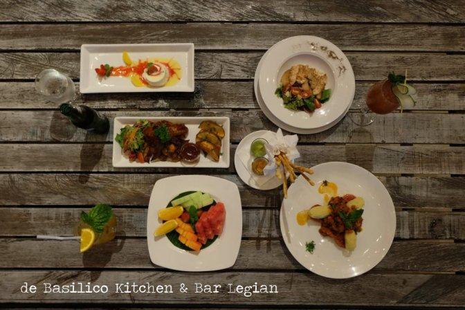 de Basilico Kitchen & Bar, menikmati Legian