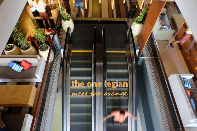 the ONE legian: meet the orange