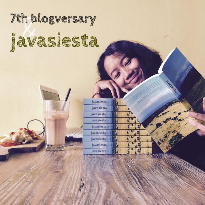 7th blogversary & javasiesta